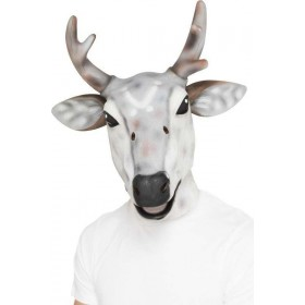 Mens Reindeer/Stag Latex Mask Christmas Masks