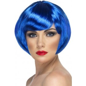 Babe Wig (Fancy Dress Wigs) - Blue