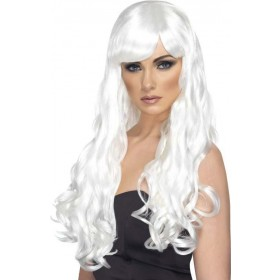 Desire Wig (Fancy Dress Wigs) - White