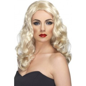 Glamorous Wig (Christmas Wigs) - Blond