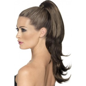 Divinity Hair Extension Wigs - (Brown)