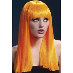 Fever Alexia Wig, 19Inch/48Cm Wigs - (Orange)