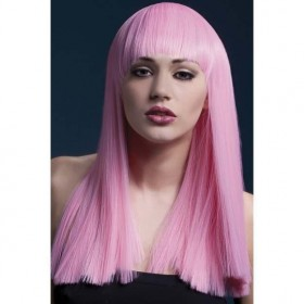 Fever Alexia Wig, 19Inch/48Cm Wigs - (Pink)
