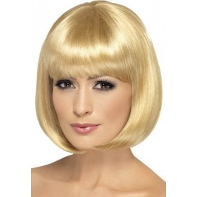 Party Wig, 12 Inch Wigs - (Blonde)