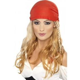 Ladies Pirate Princess Wig Wigs - (Blonde)