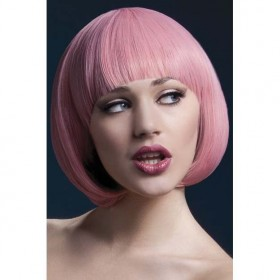 Fever Mia Wig, 10Inch/25Cm Wigs - (Pink)