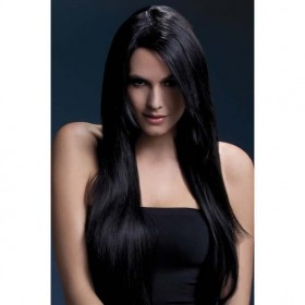Fever Amber Wig, 28Inch/71Cm Wigs - (Black)
