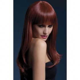 Fever Sienna Wig, 26Inch/66Cm Wigs - (Red)