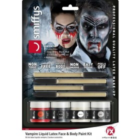 Vampire Liquid Latex Kit Halloween Makeup