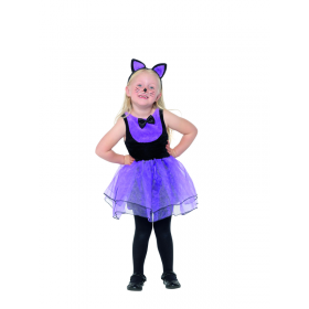 Toddler Cat Costume Fancy Dress (1-2 YRS)