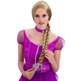 Ladies Blonde Sweet Princess Wig Fancy Dress Accessory.