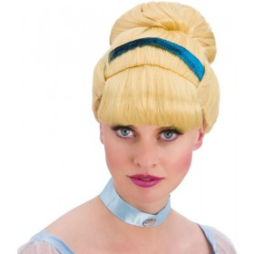 Ladies Sweet Cinders Wig Fancy Dress Accessory.
