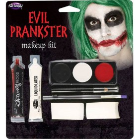 Evil Prankster/Joker Halloween Makeup Kit
