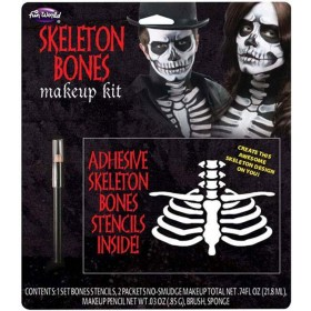 Skeleton Bones Halloween Makeup Kit