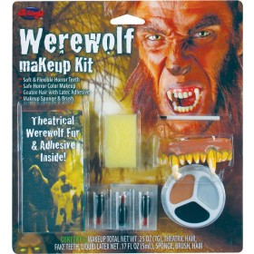 Adult Unisex Warewolf Makeup Kit Makeup