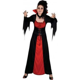 Ladies Classic Vampiress Halloween Outfit - Size 26-28