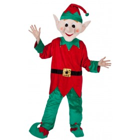 Adult Unisex Mascot - Santas Helper / Elf Christmas Outfit - One Size