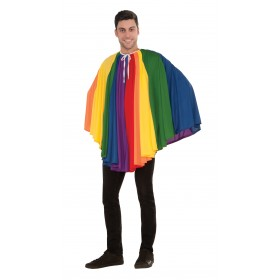 "Rainbow Cape (Short) 30"" - Multicoloured"