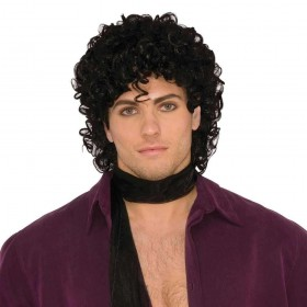 90s Rock Star Wig Fancy Dress Accessory