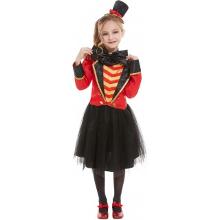 Deluxe Ringmaster Fancy Dress Costume Circus Halloween