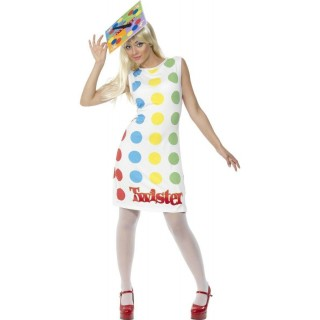 Female Twister Fancy Dress Costume Ladies