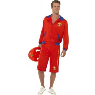 Mens Baywatch Beach Men'S Lifeguard Costume Tv Outfit