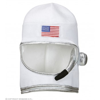 Adult Size Astronaut Helmet Fancy Dress Accessory