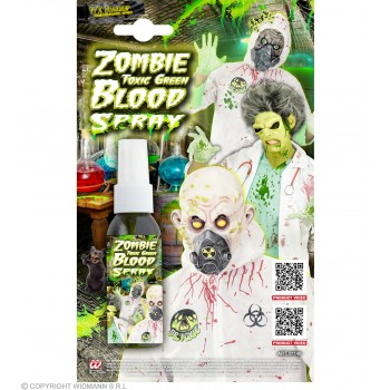Zombie Toxic Green Blood Spray Halloween Accessory