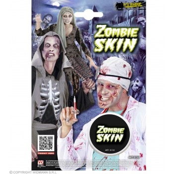 Zombie Skin Make Up Halloween Accessory