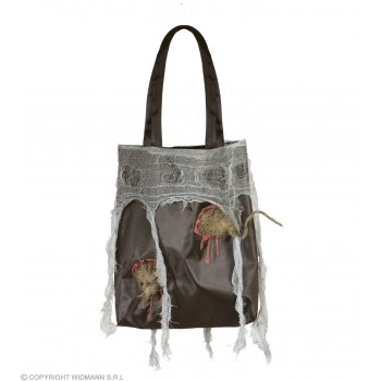 Ladies Rat Handbag Halloween Fancy Dress Accessory