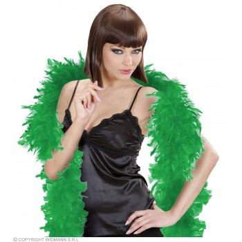 Feather Boa Small Green 180Cm - Fancy Dress