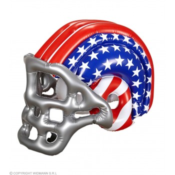 Adult Size American Flag Inflatable Football Helmet