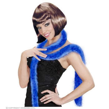 Decorative Marabou 2M - Blue Fancy Dress