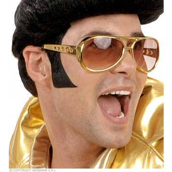 Sideburns Jumbo Black - Fancy Dress