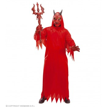 Devil Set W/Mask Costume And Hands Fancy Dress Costume (Halloween)