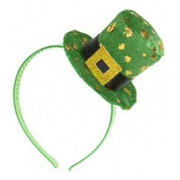 Green St. Patrick'S Day Mini Top Hat