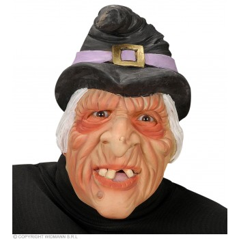 Half - Face Mask - Witch - Fancy Dress (Halloween)