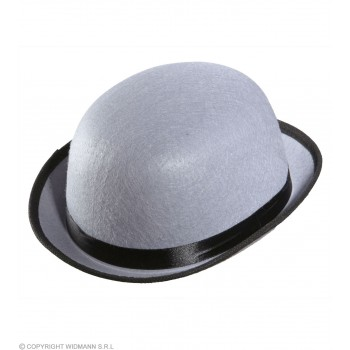 Bowler Felt Child Size - Grey Hats - (Grey)