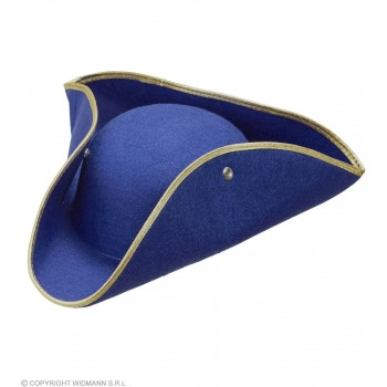 Boys Tricorn Felt - Blue Hats - (Blue)