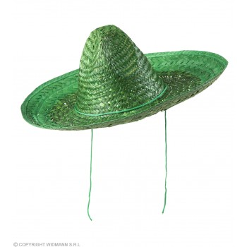 Boys Sombrero 48Cm - Green Hats - (Green)