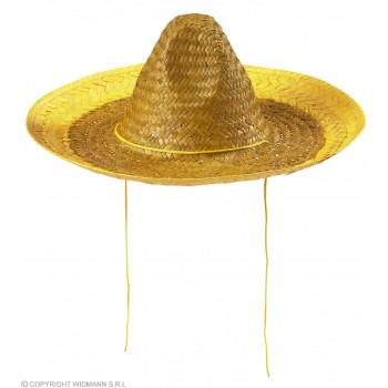 Boys Sombrero 48Cm - Yellow Hats - (Yellow)
