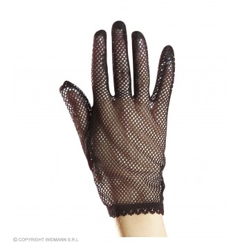 Gloves Net Black - Fancy Dress