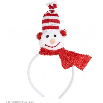 Festive Christman Head Boppers Snowman