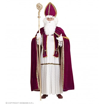 Super Deluxe Saint Nicholas  Costume Mens Size 46-48 (Christmas)