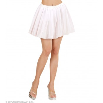 Tutu Adult Size - White - Fancy Dress Ladies