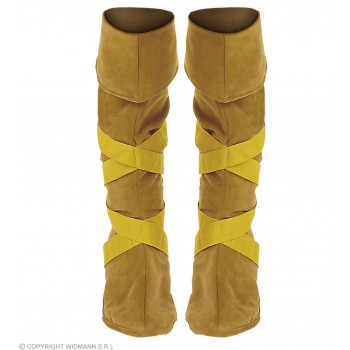 Native American Boot Covers - Fancy Dress (Cowboys/Native Americans)
