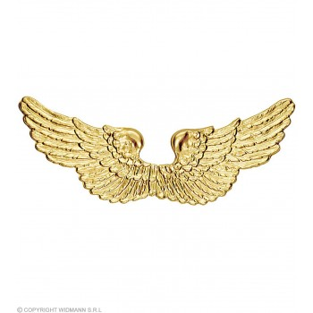 Angel Wings Gold Plastic - Fancy Dress (Christmas)