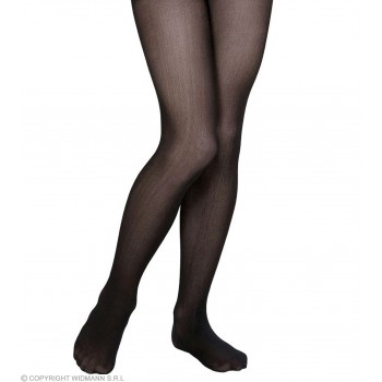 Pantyhose Child Sizes - Black - Fancy Dress Girls