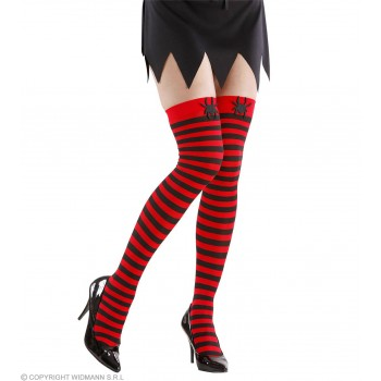 Spider Over Knee Socks 70 Den - Fancy Dress