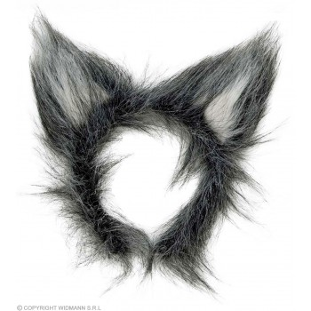 Plush Wolf Ears - Fancy Dress (Animals)